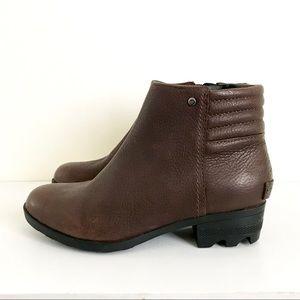 Sorel Danica Ankle Boots Short Waterproof Size 6